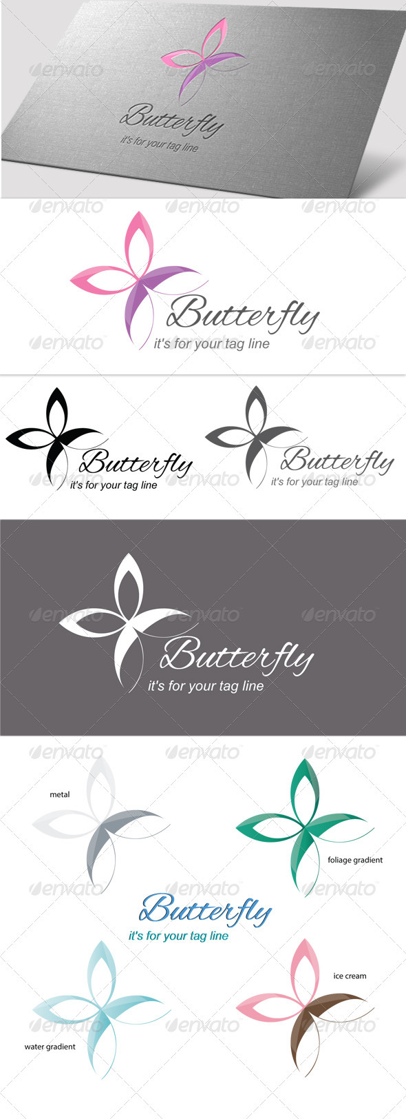 GraphicRiver Butterfly 3637845