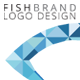 Gstudio Fishbrand Logo Template - GraphicRiver Item for Sale