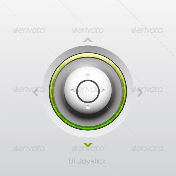 GraphicRiver Joystick UI Button Design 3638633