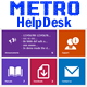 Metro Help Desk Support Tickets - CodeCanyon Item for Sale