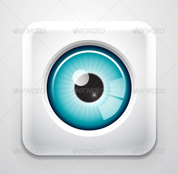 GraphicRiver Eye Button 3638745