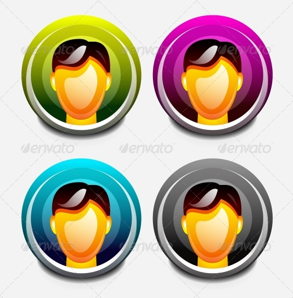GraphicRiver User Icons Set 3638843