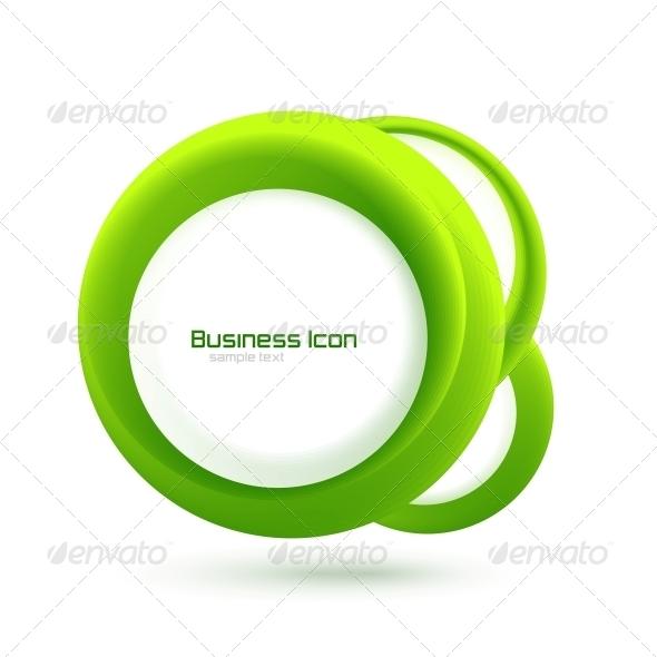 GraphicRiver Green Eco Business Emblem 3639165