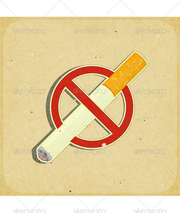 GraphicRiver No Smoking Sign 3639221