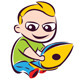 online kid - GraphicRiver Item for Sale