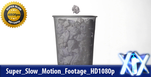 VideoHive Trash Can 480fps 3639736