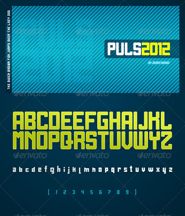 Puls 2012 - Sans-Serif Fonts