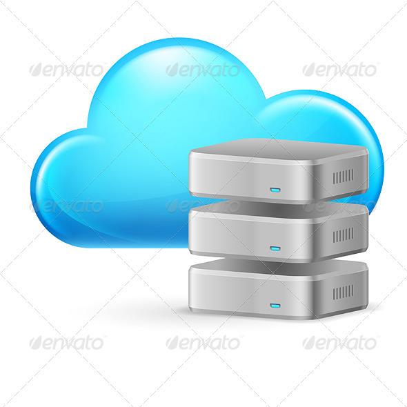 GraphicRiver Cloud Computing 3640943