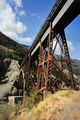 Railway Bridge In Mountains Portrait Format - PhotoDune Item for Sale