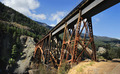 Railway Bridge In Mountains Landscape Format - PhotoDune Item for Sale