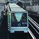 Metro Departing From Station - VideoHive Item for Sale