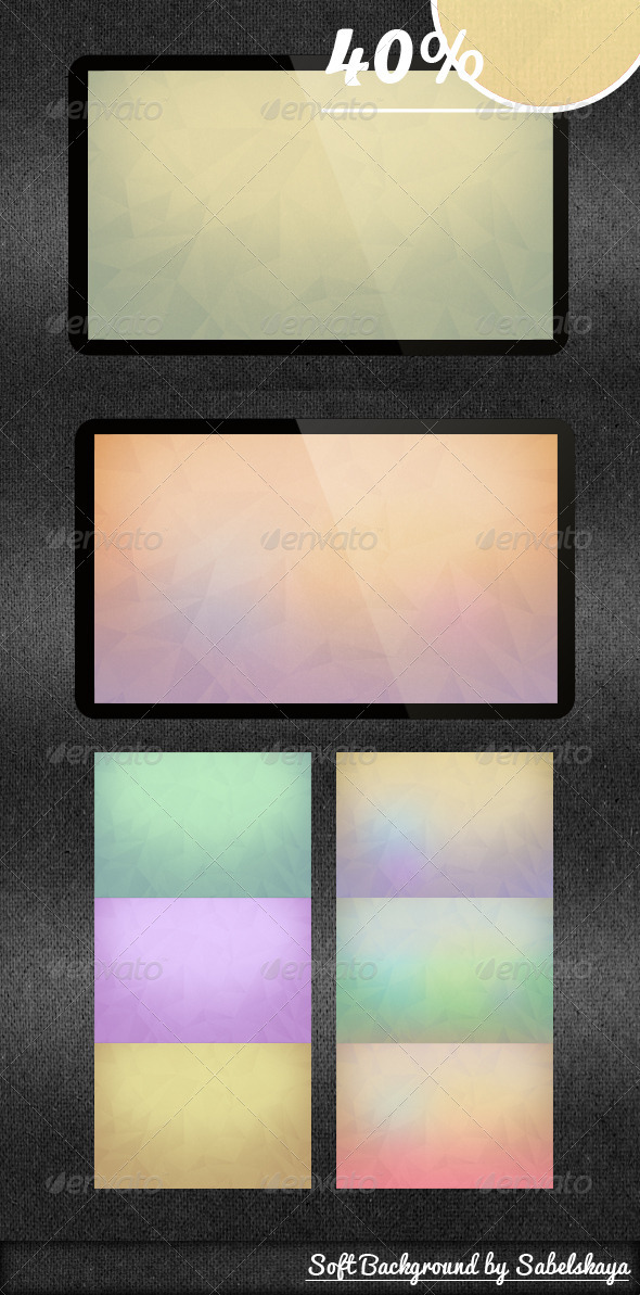 GraphicRiver Soft Background 3642348