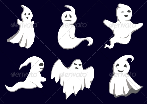 GraphicRiver Mystery Ghosts 3642690