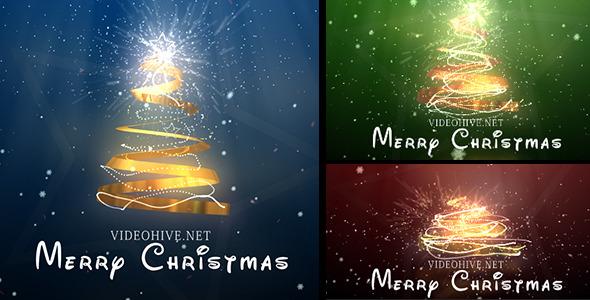 VideoHive Christmas Tree 3628785