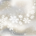 Xmas background. Abstract winter design with stars and snowflake - PhotoDune Item for Sale