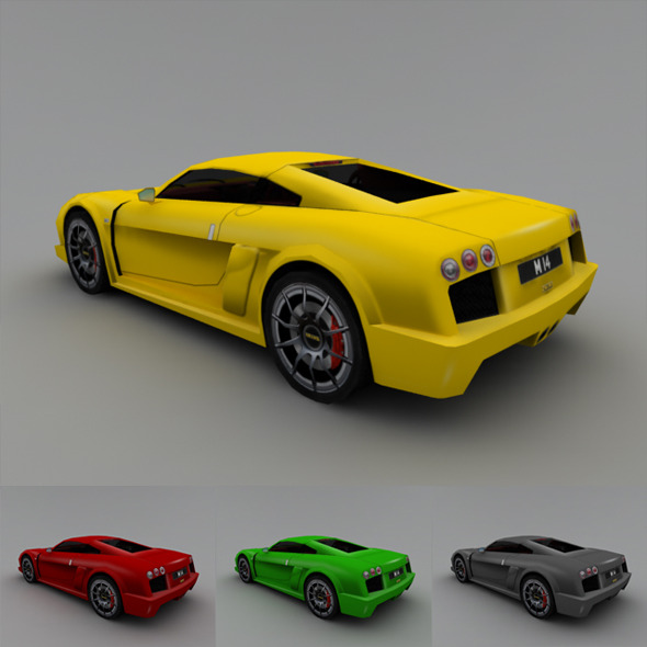3DOcean 2005 Noble M14 Low-Poly 3644496