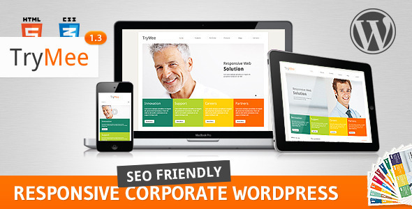 ThemeForest TryMee Premium responsive corporate theme 2361900