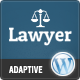 Lawyer: Multi-Purpose Adaptive Wordpress Theme - ThemeForest Item for Sale