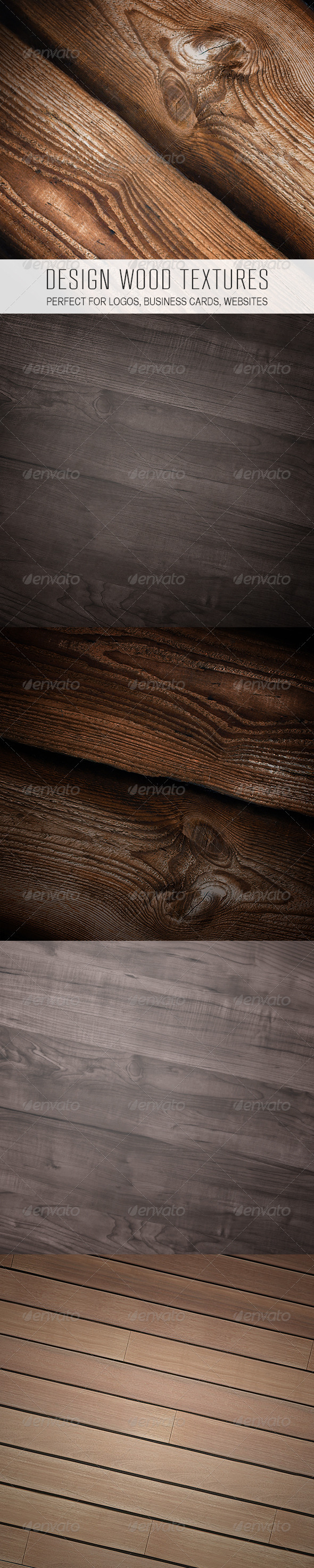 GraphicRiver Design Wood Textures 3645943