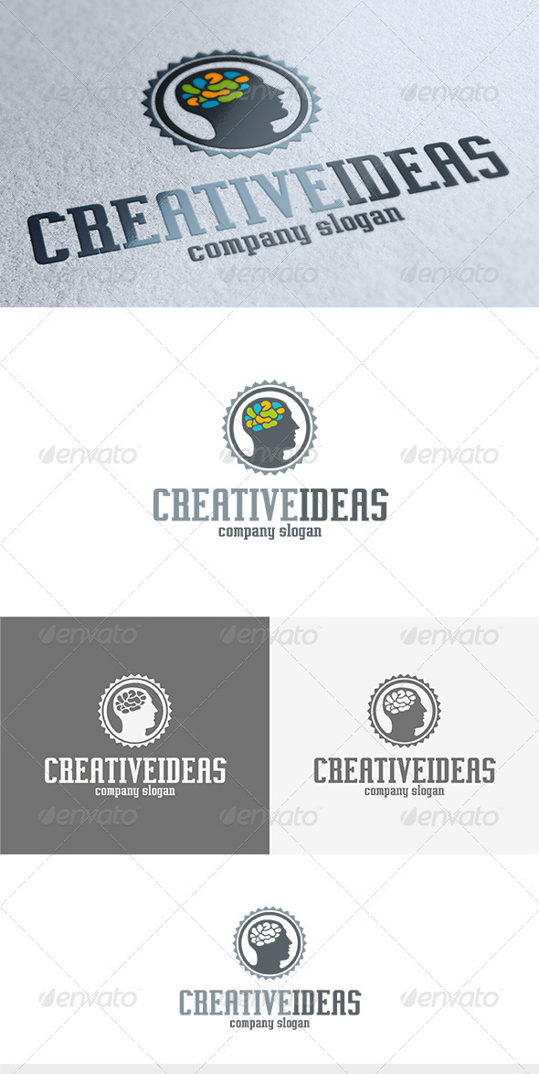 GraphicRiver Creative Ideas Logo 3646626