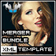 MERGER XML Template Bundle - ActiveDen Item for Sale