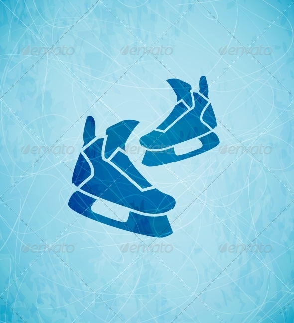 GraphicRiver Vector Skates Background 3648106