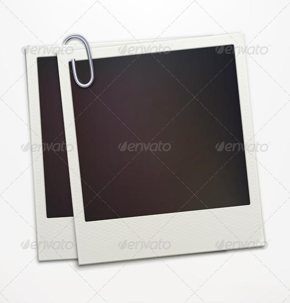 GraphicRiver Retro Polaroid Photo Frames 3648922