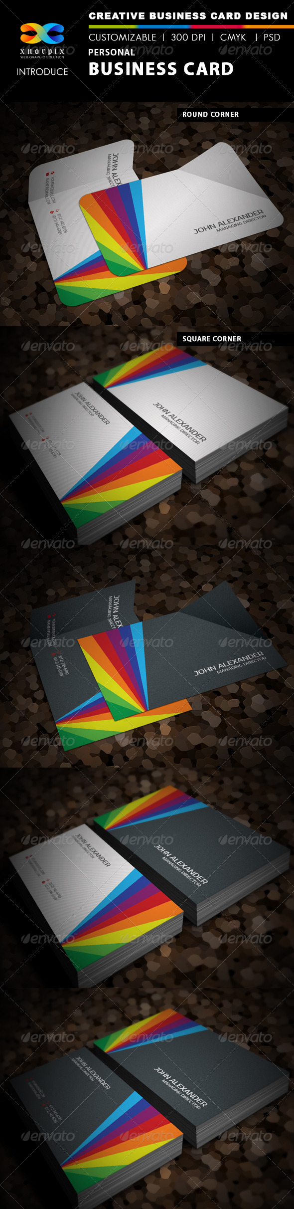 GraphicRiver Personal Business Card 3648946