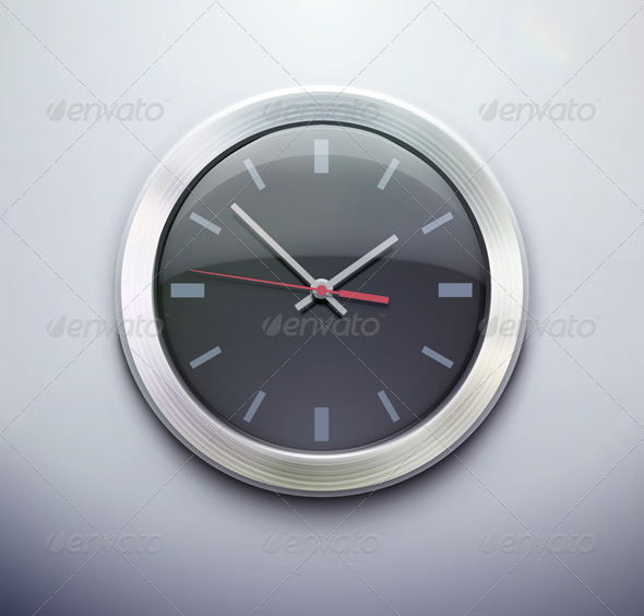 GraphicRiver Clock Icon 3648948