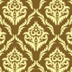 Set - Vintage Patterns with Gold Ornament - GraphicRiver Item for Sale