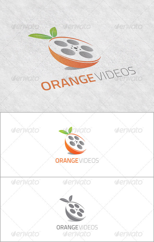 GraphicRiver OrangeVideos Logo for Video Productions 3652952
