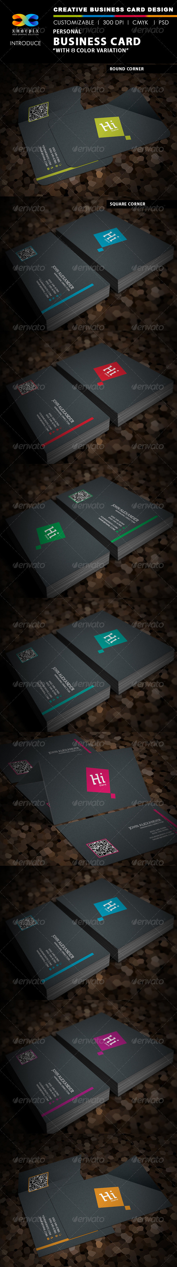 GraphicRiver Personal Business Card 3653231