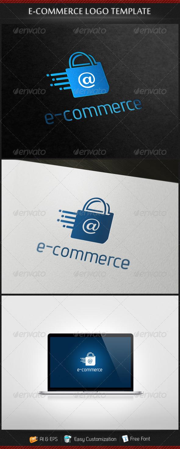 GraphicRiver e-Commerce Logo 3653737