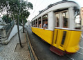 Fish-eye shot of a moving city train - PhotoDune Item for Sale