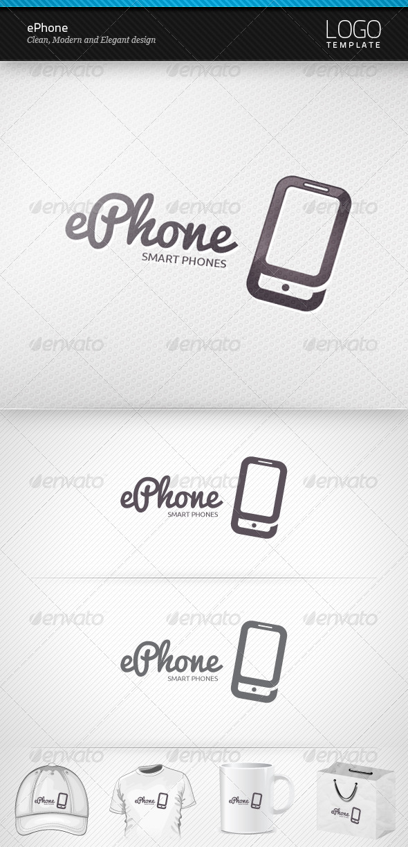 ePhone Logo - Objects Logo Templates