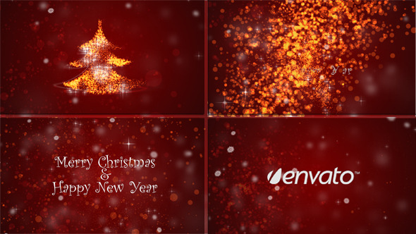 VideoHive Form Christmas Tree 3633756