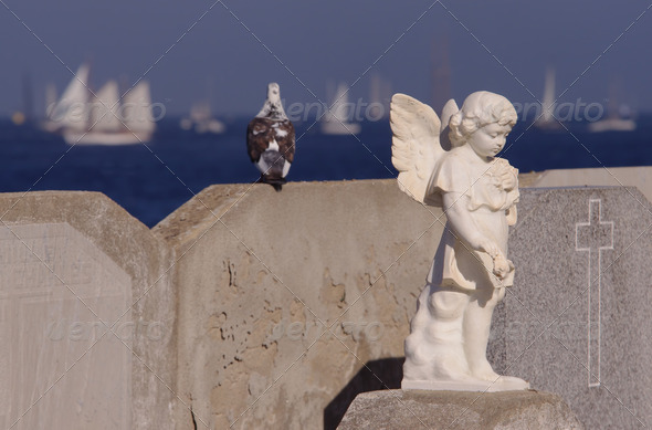 religious statue  - Stock Photo - Images