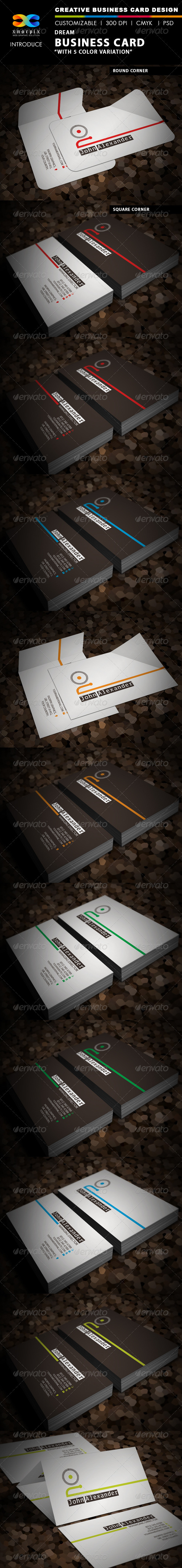 GraphicRiver Dream Business Card 3601172
