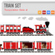 Train Set - GraphicRiver Item for Sale
