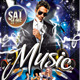 Music Party Template - GraphicRiver Item for Sale