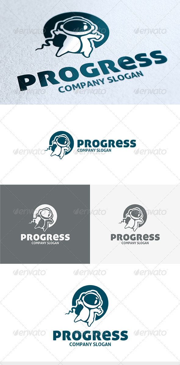 GraphicRiver Progress Logo 3664966