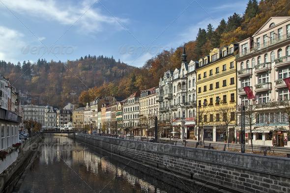 PhotoDune river Tepla Karlovy Vary 3665295