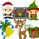 Cute Christmas Collection 1 - GraphicRiver Item for Sale
