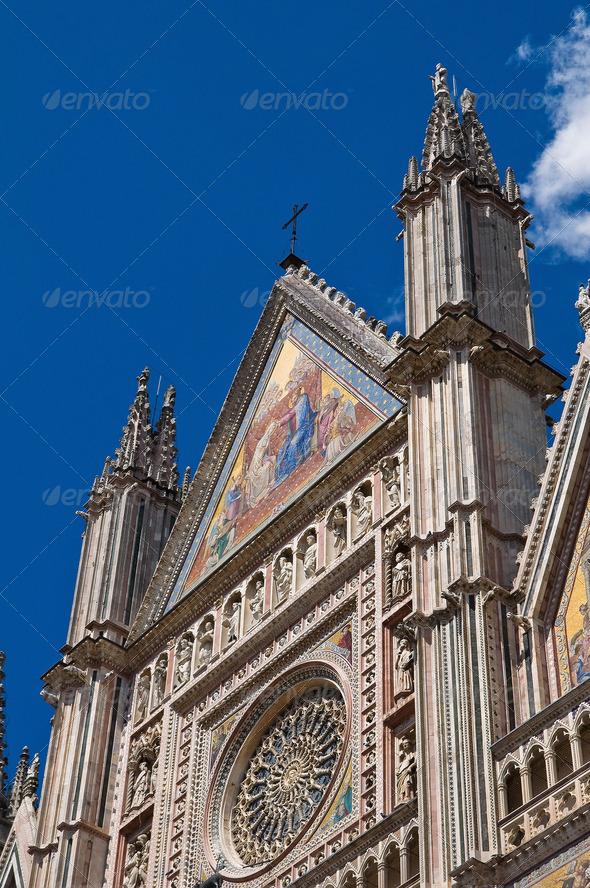 PhotoDune Cathedral of Orvieto Umbria Italy 3665468