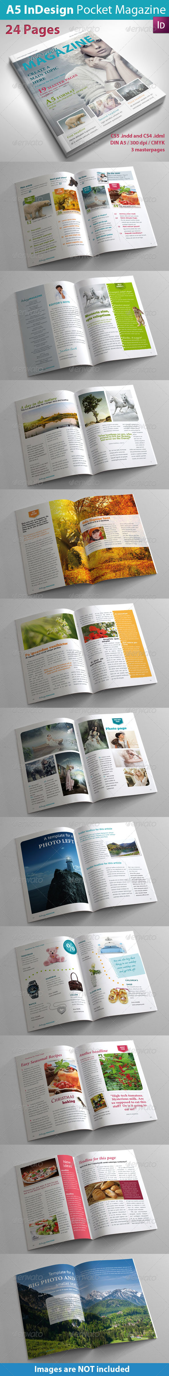 GraphicRiver A5 InDesign Magazine 3665470