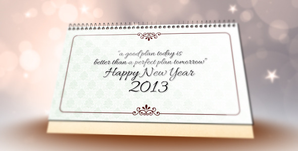 VideoHive New Year Wishes 3666042