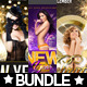 3x New Year Flyer Bundle Vol. 2 - GraphicRiver Item for Sale