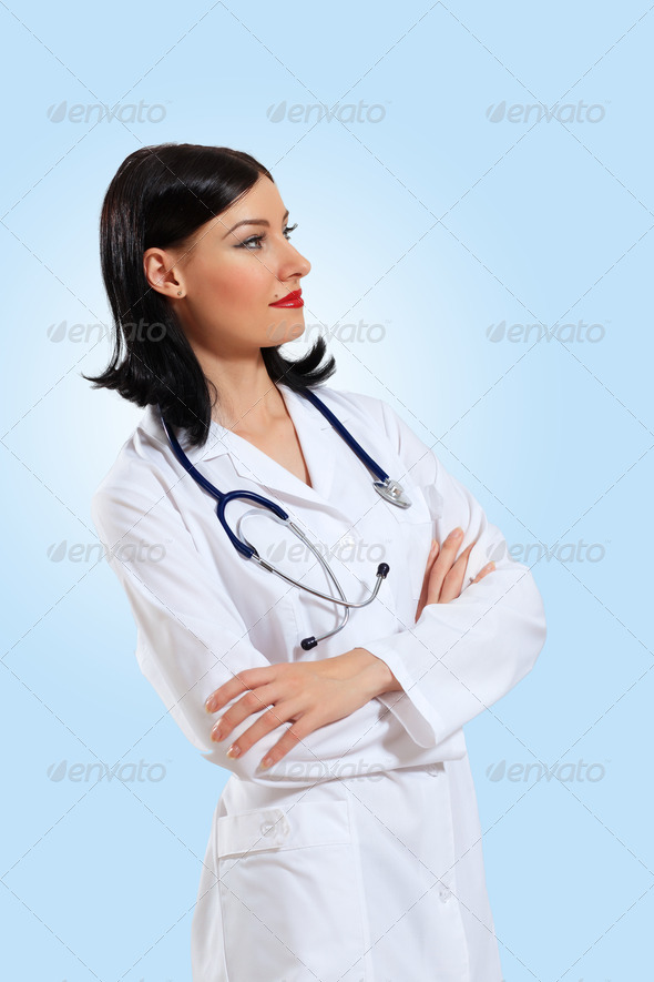 PhotoDune young female doctor portrait 3667895