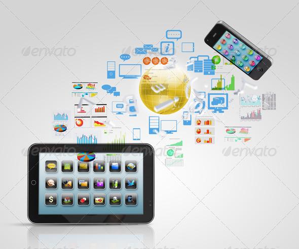 PhotoDune Modern communication technology 3667965