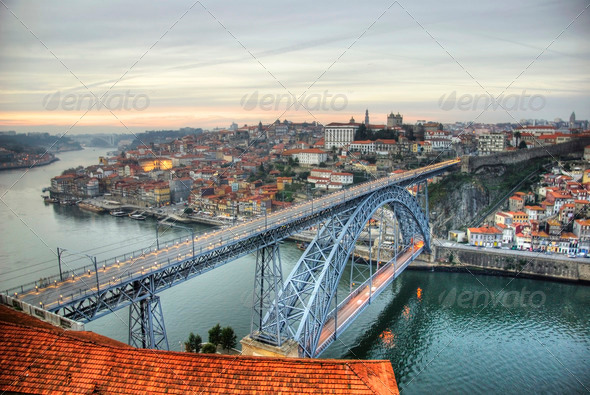 PhotoDune Ponte Luis I bridge Porto 3666988